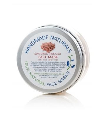 Handmade Naturals rožinio molio kaukė (45g)